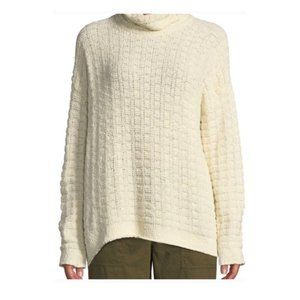 NWT Eileen Fisher Organic Cotton Open Knit Sweater